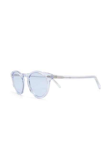 blue round-frame sunglasses featuring a transparent design ELEVENTY |  | A72OCCA03-OCC0A00308