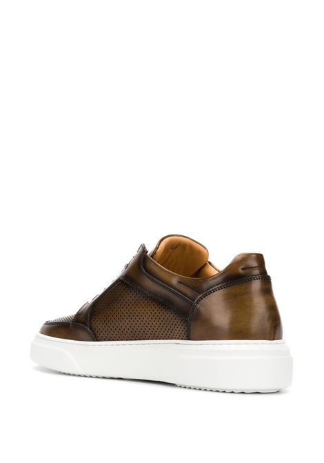 brown leather sneakers with white rubber sole ELEVENTY |  | A72SCAA11-SCA0A03205