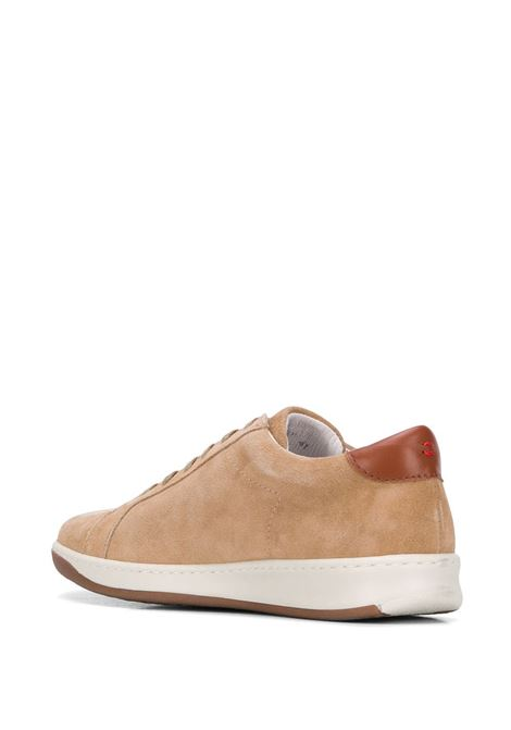 brown leather suede effect camel color sneakers ELEVENTY |  | A72SCNA01-SCA0A00702