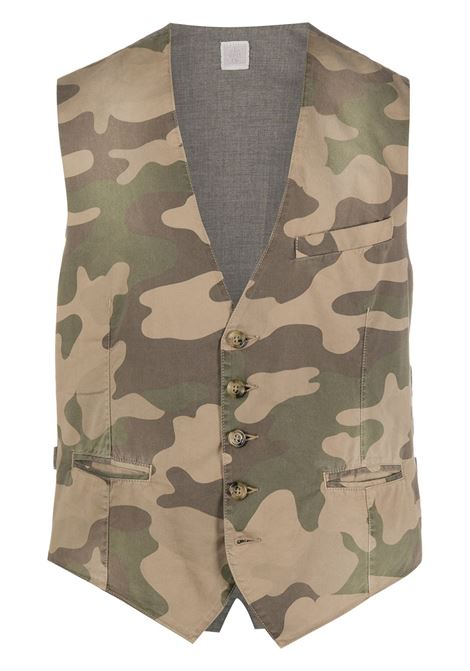gilet in cotone camouflage ELEVENTY   Gilet   A75GILA06-TET0A00607