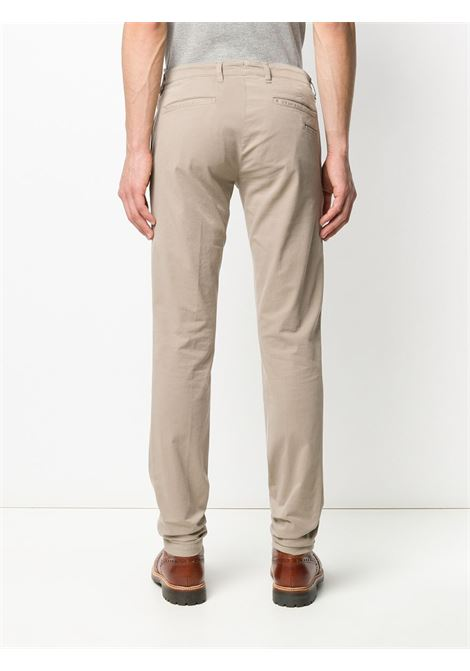 Sand beige cotton blend low-rise straight-leg chinos  ELEVENTY |  | A75PANA02-TET0A00303