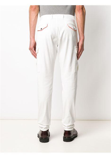Pantaloni cargo bianchi con rifiniture in misto cotone  ELEVENTY |  | A75PANA03-TET0A00101