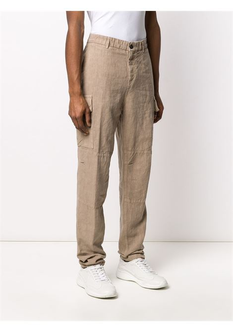 Beige linen straight-leg side pocket trousers  ELEVENTY |  | A75PANA15-TET0A01003
