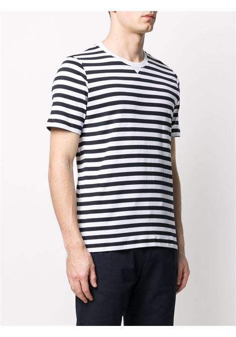 black and white cotton fine knit T-shirt  ELEVENTY |  | A75TSHA01-JER0A00401N-11
