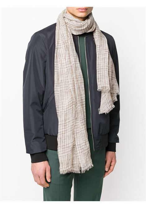 oyster beige linen frayed scarf ELEVENTY |  | A77SCIA06-TES0A23304