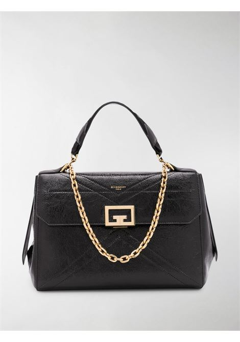 medium ID shoulder bag in crackeled black calf-skin leather GIVENCHY |  | BB50C4B0S5-ID MEDIUM001