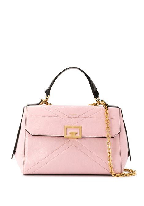 pink crackeled calf leather ID shoulder bag with gold metal details GIVENCHY |  | BB50C4B0S5-ID MEDIUM650