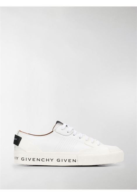 White calf leather sneakers with Givenchy lettering logo on the left sole GIVENCHY |  | BE000TE0GA100