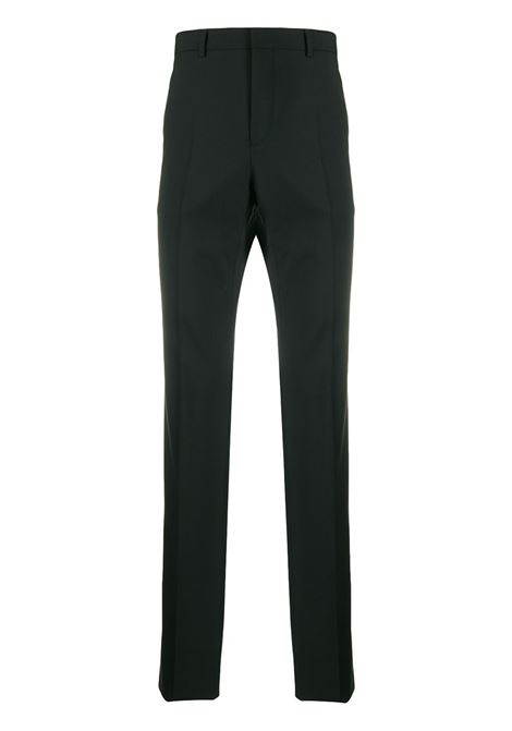 black wool classic trousers with back Givenchy white lettering logo pocket GIVENCHY |  | BM50K0100B001