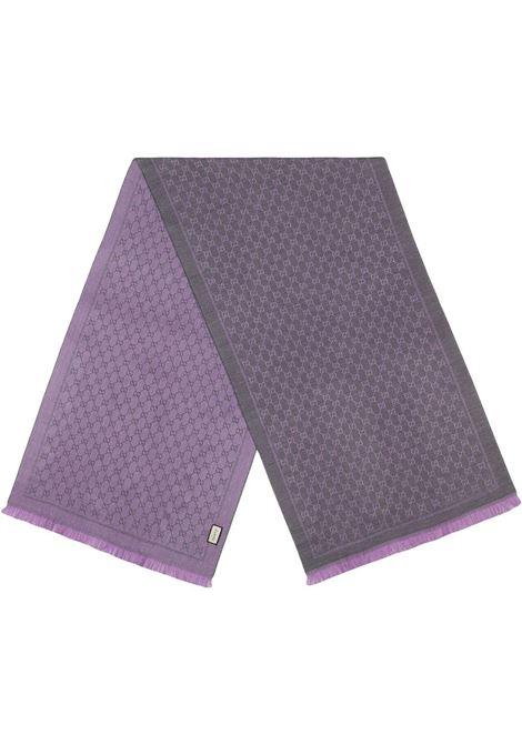 grey lilac woll Gucci scarf GUCCI |  | 411115-3G2001371