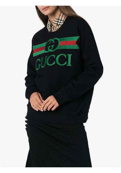 black oversize Gucci sweater GUCCI |  | 469250-XJCCG1082