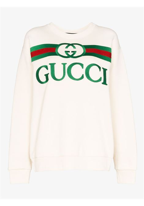 white oversize Gucci sweater GUCCI |  | 469250-XJCCG9230