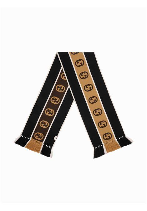 bicolor wool GG logo scarf GUCCI |  | 575605-4G1841000