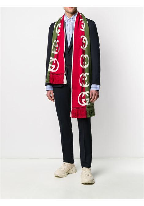 bicolor wool GG logo scarf GUCCI |  | 575606-4G1843174