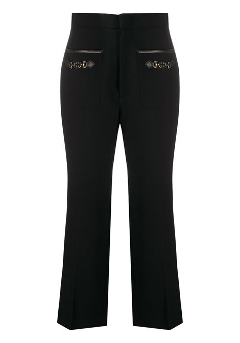 black wool horsebit pocket cropped Gucci trousers  GUCCI |  | 596962-Z8AIF1000