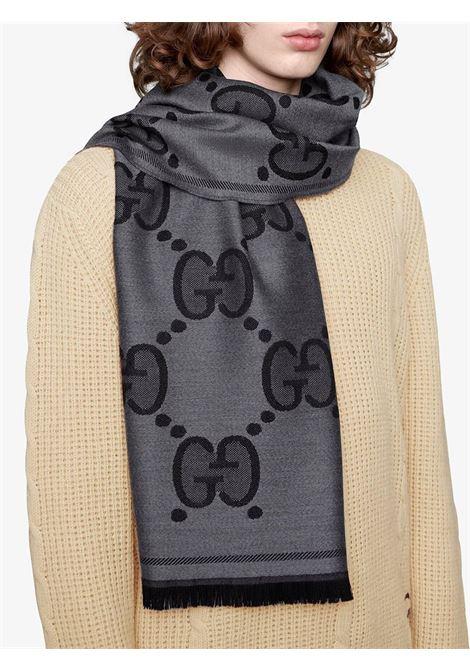 sciarpa in lana rasata Gucci 45x195 GUCCI | Sciarpe e foulards | 598189-4G2001460