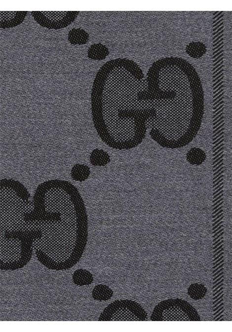 black and grey wool 45x195 Gucci scarf GUCCI |  | 598189-4G2001460