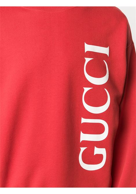 red cotton long sleeves Gucci sweatshirt GUCCI |  | 599345-XJB1C6068