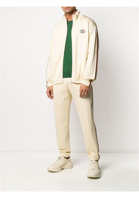 ivory perforated track jacket GUCCI |  | 599359-XJB1N9192