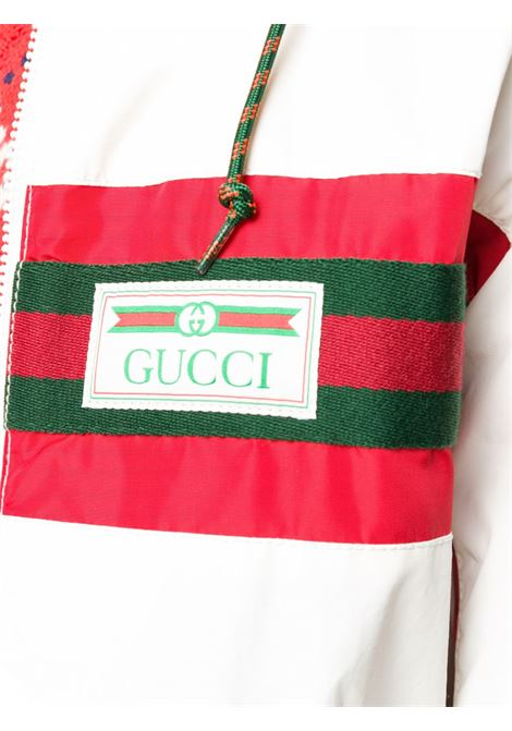 white and Gucci Web details windbraker jacket GUCCI |  | 599935-XDA0X9061