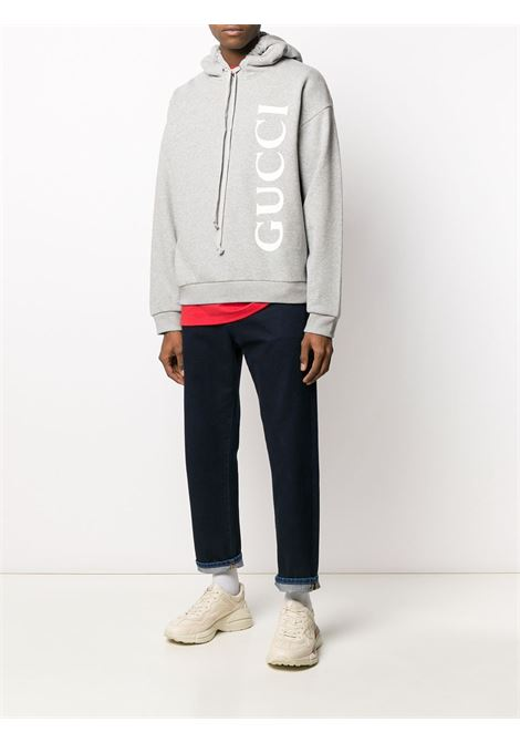 light grey Gucci hoodie GUCCI |  | 604974-XJB1D1039