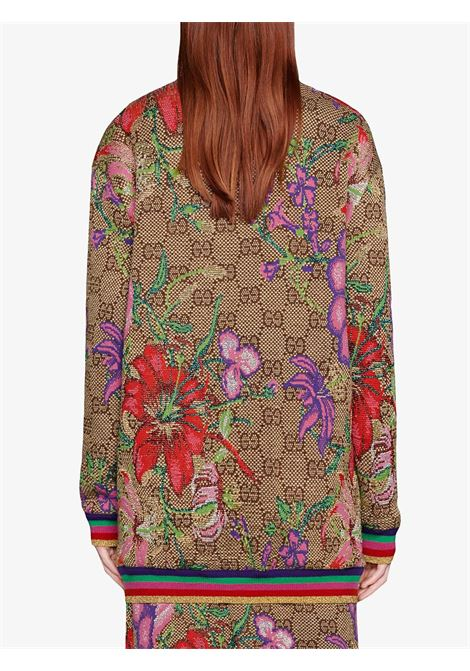 wool Gucci monogram multicolor print cardigan GUCCI |  | 606080-XKA7F2006