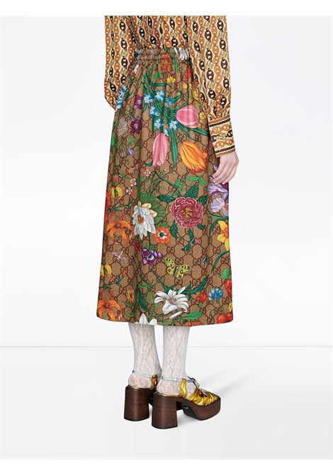 Gucci Flora print long skirt GUCCI |  | 609954-XJB9I2103