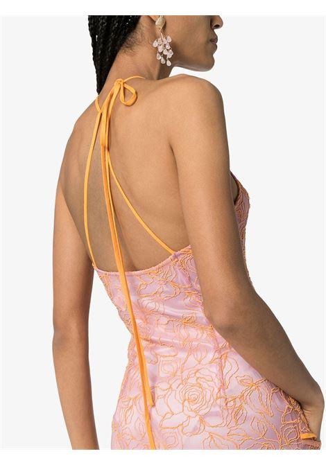 abito Lavandou in tulle arancio/rosa JACQUEMUS | Abiti | 201DR2327754
