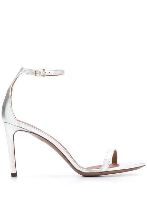 Silver patent leather open-toe strappy sandals  L'AUTRE CHOSE |  | LDL050.85CP-29143002