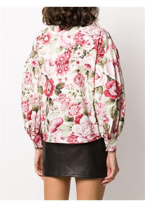 multicolour cotton Corus floral print shirt  P.A.R.O.S.H. |  | D380467-CORUS802