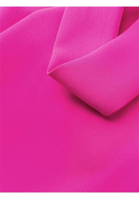 Mini abito fucsia bordato di piume P.A.R.O.S.H. | Abiti | D723198P-PANTERS042