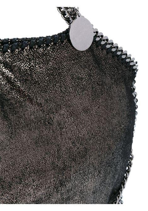 Falabella in eco-pelle color piombo con catena in argento brunito STELLA MC CARTNEY | Borsa | 234387-W90561111