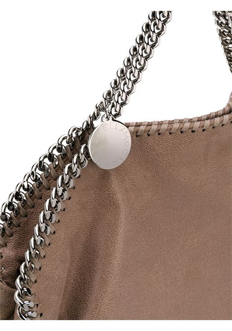 light brown medium Falabella tote with dark silver chain  STELLA MC CARTNEY      234387-W91322800