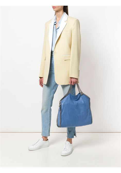 light blue eco-leather Falabella tote bag with silver chain STELLA MC CARTNEY |  | 234387-W91324111