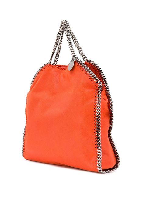 Falabella in eco-pelle arancione con catena brunita STELLA MC CARTNEY | Borsa | 234387-W91326561