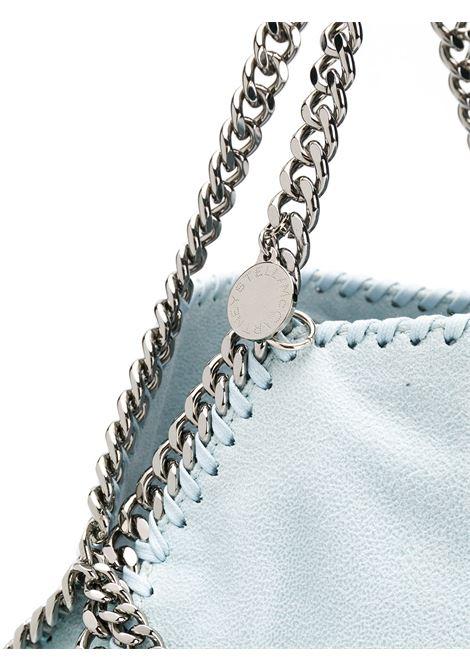 Falabella mini in eco-pelle color cielo con catena argento STELLA MC CARTNEY | Borsa | 371223-W86759031