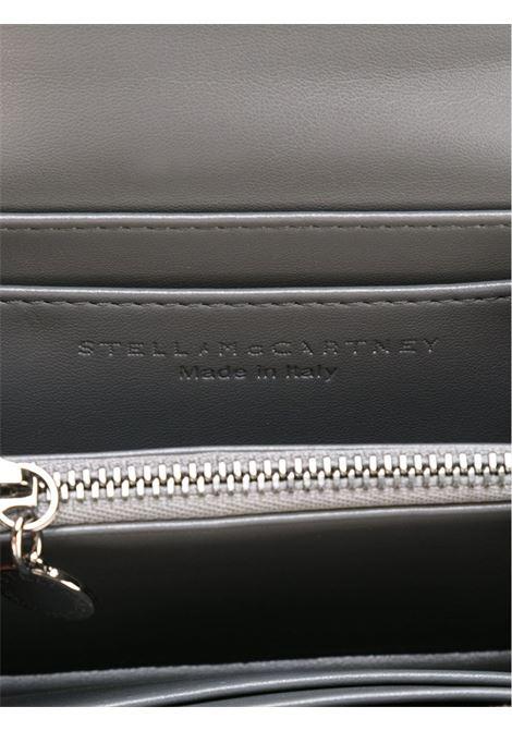 portafogli Falabella in eco-pelle grigio con catena argentata STELLA MC CARTNEY | Portafogli | 391836-W91321220