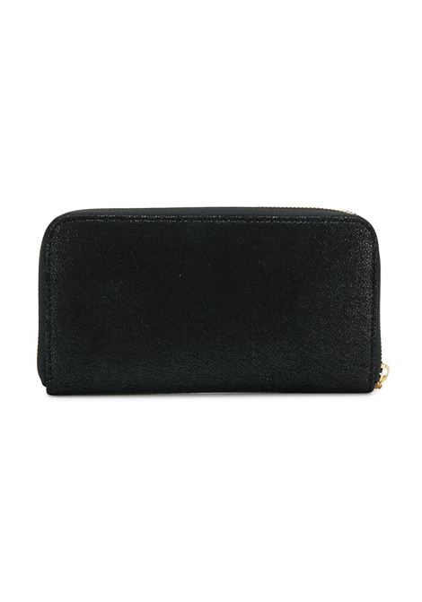 Falabella continental eco-leather suede black wallet with golden chain STELLA MC CARTNEY |  | 434750-W93551000