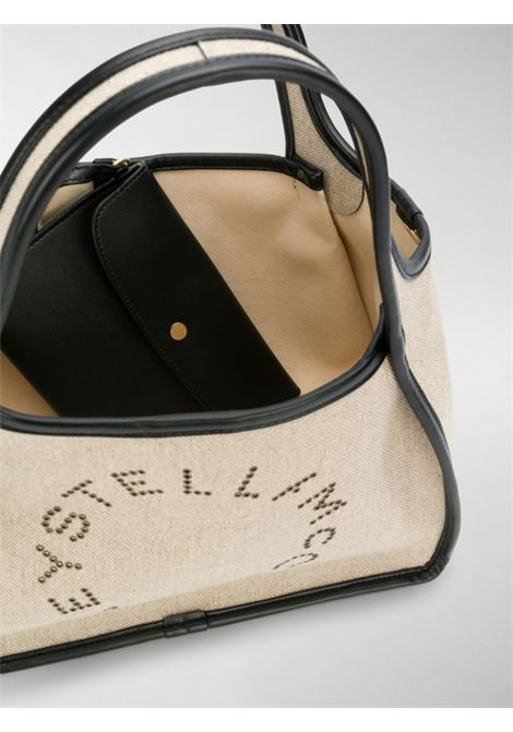 natural canvas and black eco-leather tote bag STELLA MC CARTNEY |  | 513860-W82519700