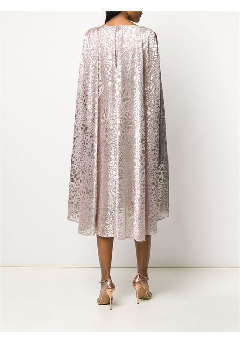 Pink metallic dress from featuring metallic threading TALBOT RUNHOF |  | BORGENA1-FK55317