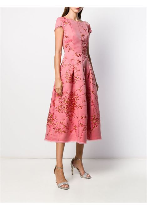 Pink silk blend Portsmith dress  TALBOT RUNHOF |  | PORTSMITH8-FP20369
