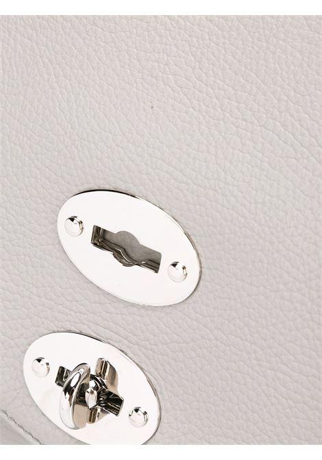 Postina in pelle martellata grigio chiaro Zanellato | Borsa | 6120-1859