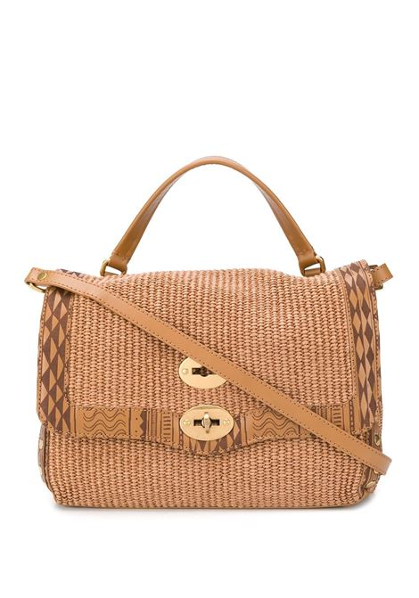 small Postina tote in raffia with leathe ethnic details Zanellato |  | 6120-CLC3
