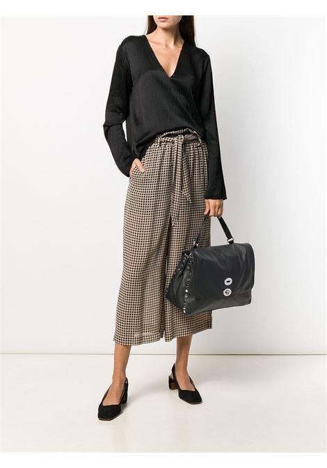 medium black Postina leather tote bag Zanellato |  | 6131-1802