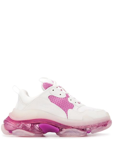 sneakers Triple S bianco / rosa BALENCIAGA | Scarpa | 544351-W09ON9025