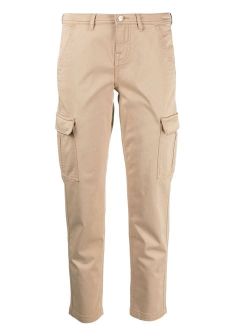 Pantaloni cargo cropped in misto cotone beige 7 FOR ALL MANKIND | Pantaloni | JSL3V950SE-CARGO CHINOBEIGE