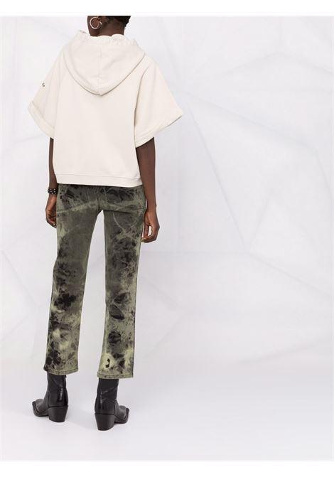 white cotton shortsleeved hoodie A.B. |  | ABJM015-J1325220