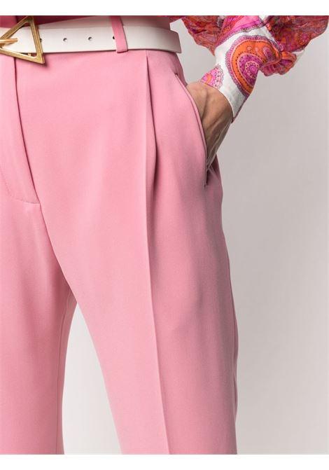 Pink tapered pintuck trousers  ALBERTO BIANI |  | CC859-AC002847