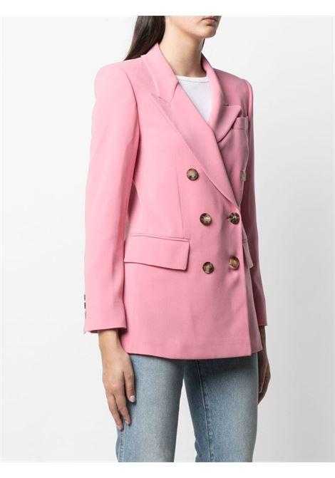 Blazer doppiopetto con revers a lancia rosa fenicottero ALBERTO BIANI | Giacche | II866-AC002847