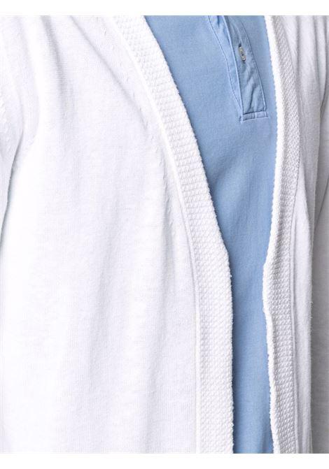 White cotton and linen V-neck cardigan  ALTEA |  | 215101729